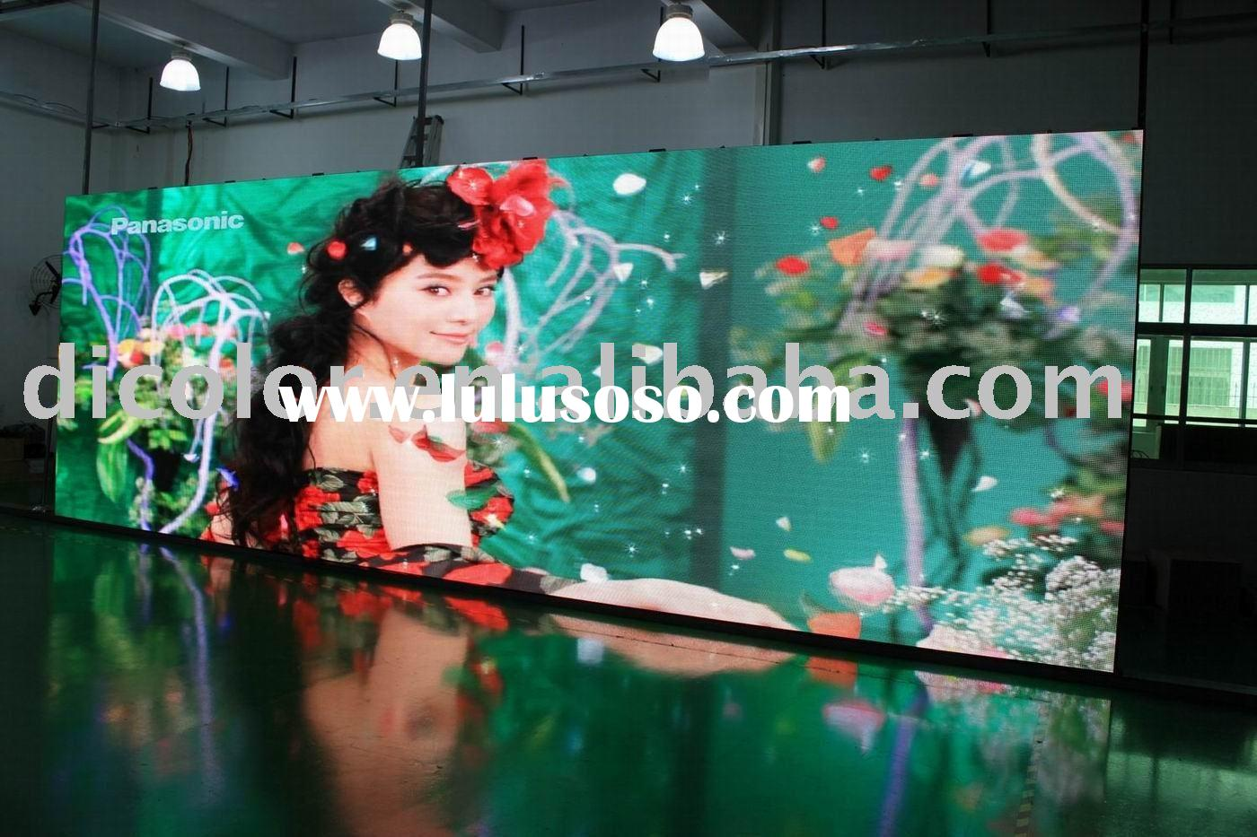 P7.62 Low power consumption indoor led panel board with 3G, 3D Technology