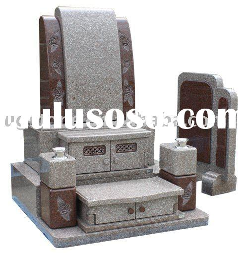 Patented tombstone,Japanese style tombstone,Japanese tombstone (Boseki,ohaka)