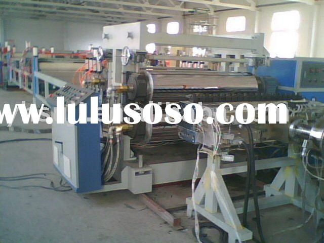 Plastic Wood Composite WPC Construction Board Extrusion line - Plastic Machinery