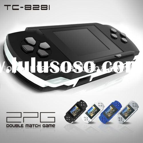 Portable 8 bit TV handheld game player