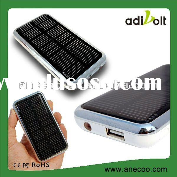 Portable Emergency Backup Power Bank Battery Universal Solar Charger With 3500mAh