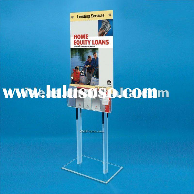 Poster stand,Display rack for advertising