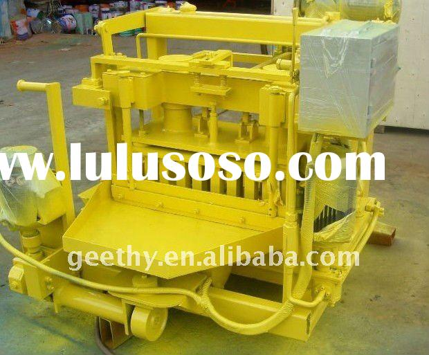 QT40-3A mud brick making machine/clay brick making machine/automatic brick making machine