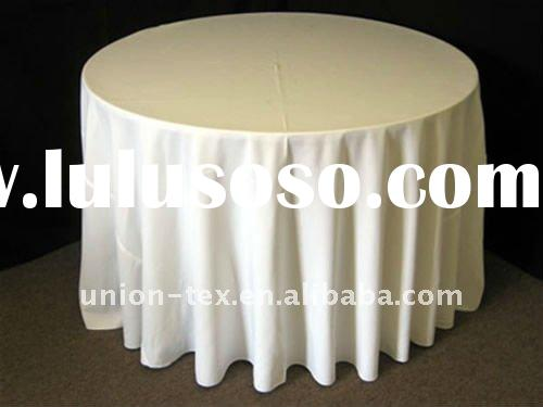 Quality Polyester Round Table Cloth (UT-A-11092801)