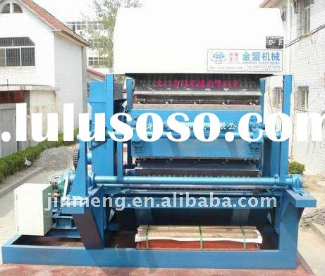 Recycling waste paper egg tray machine