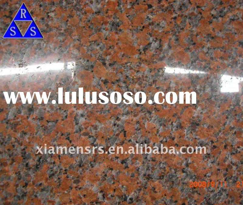 Red granite G562 Maple red slab and tile