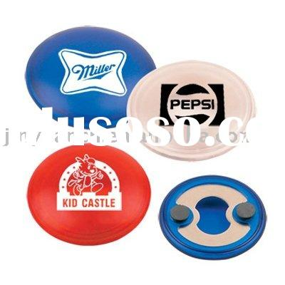Round Shape Bottle Opener with Magnet