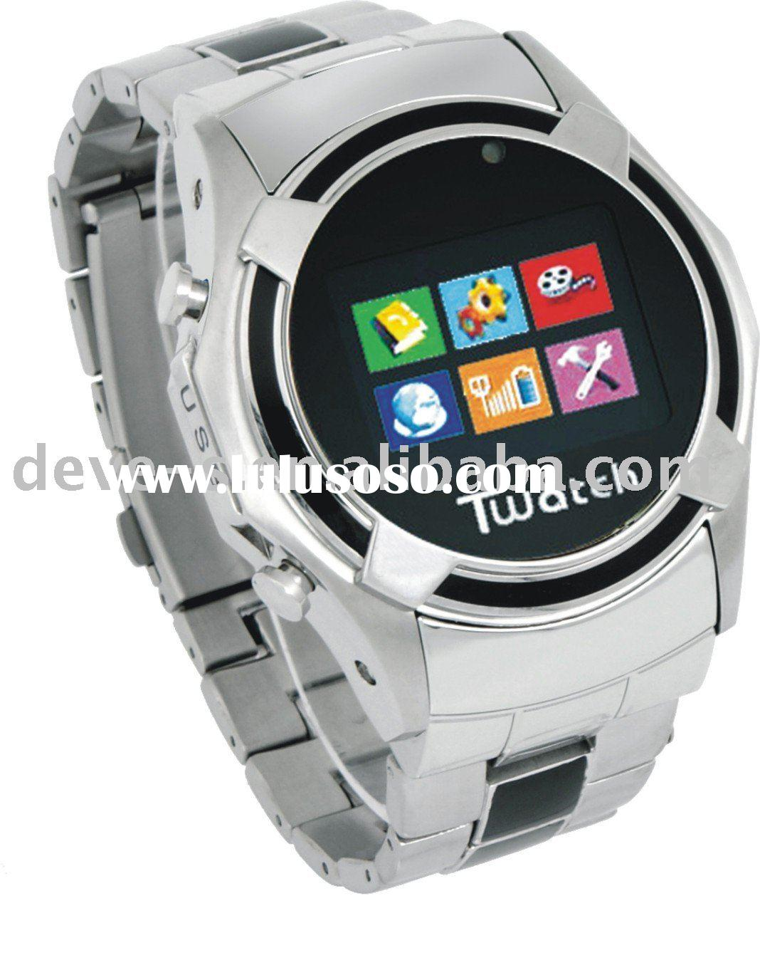 S760 KK Video 3G watch mobile phone,dual sim watch cell phone
