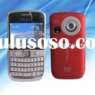 "SF-K68 2.4"" three sim dual camera TV QWERTY keyboard mobile phone"