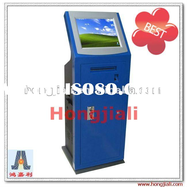 Self-service Touch Screen Coin Operated Internet Kiosk