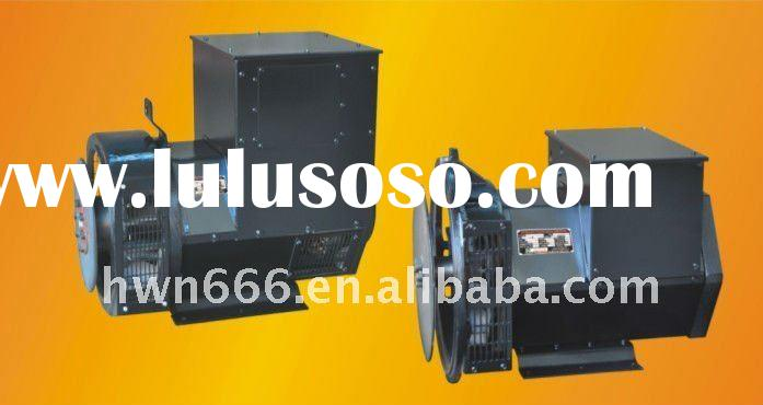 Series brushless three-phase synchronous generator