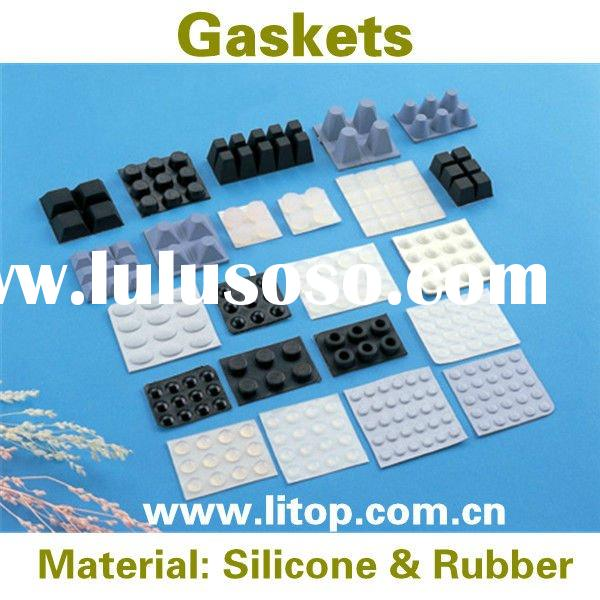 Serrated Silicone Rubber Gaskets Seals Rings for Electrical Appliance Industrial Medical and other f