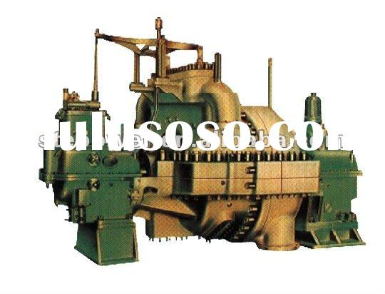 Small steam turbine generator unit