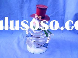 Snowman figurine,outdoor christmas decorations,