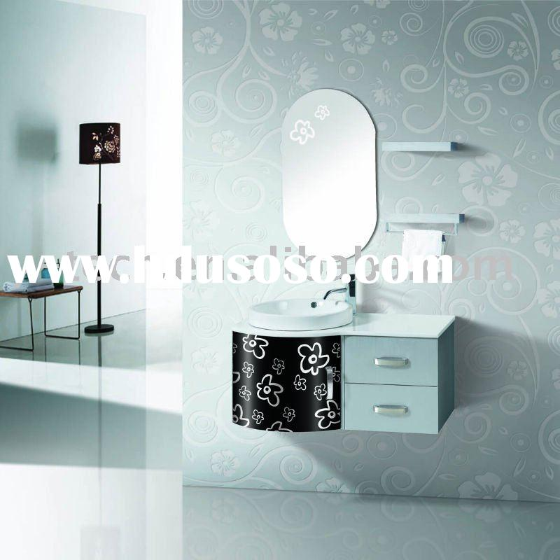 "Stainless steel cabinet bathroom furniture Home&Hotel use, W:39.4"", H: 35.4"" SW-1166"