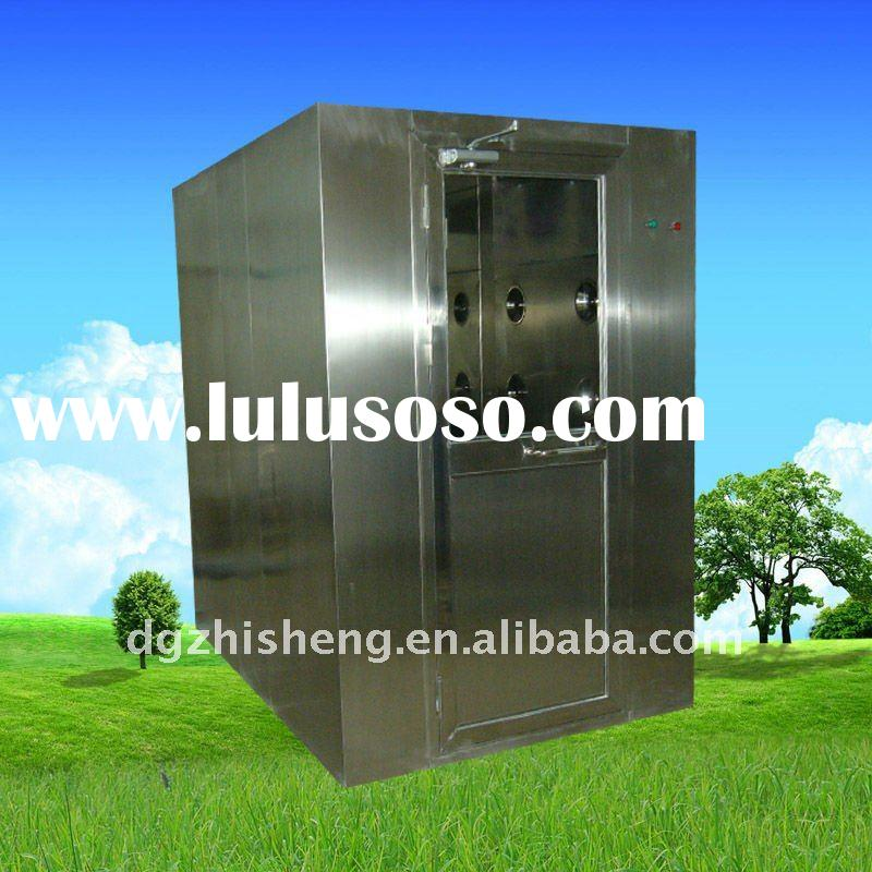 Stainless steel industrial air shower for clean room