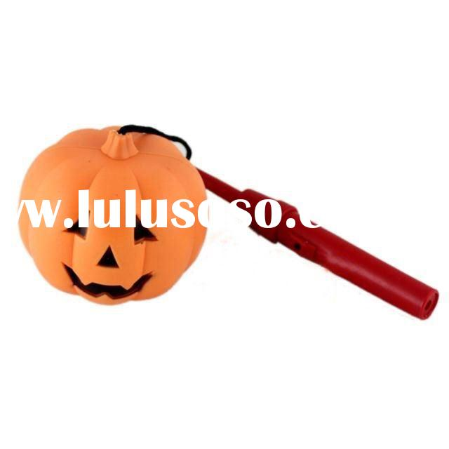 Store bar decorate adornment Halloween pumpkin props-portable pumpkin lantern with battery