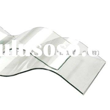 Ten years warranty corrugated plastic roofing sheet for building material