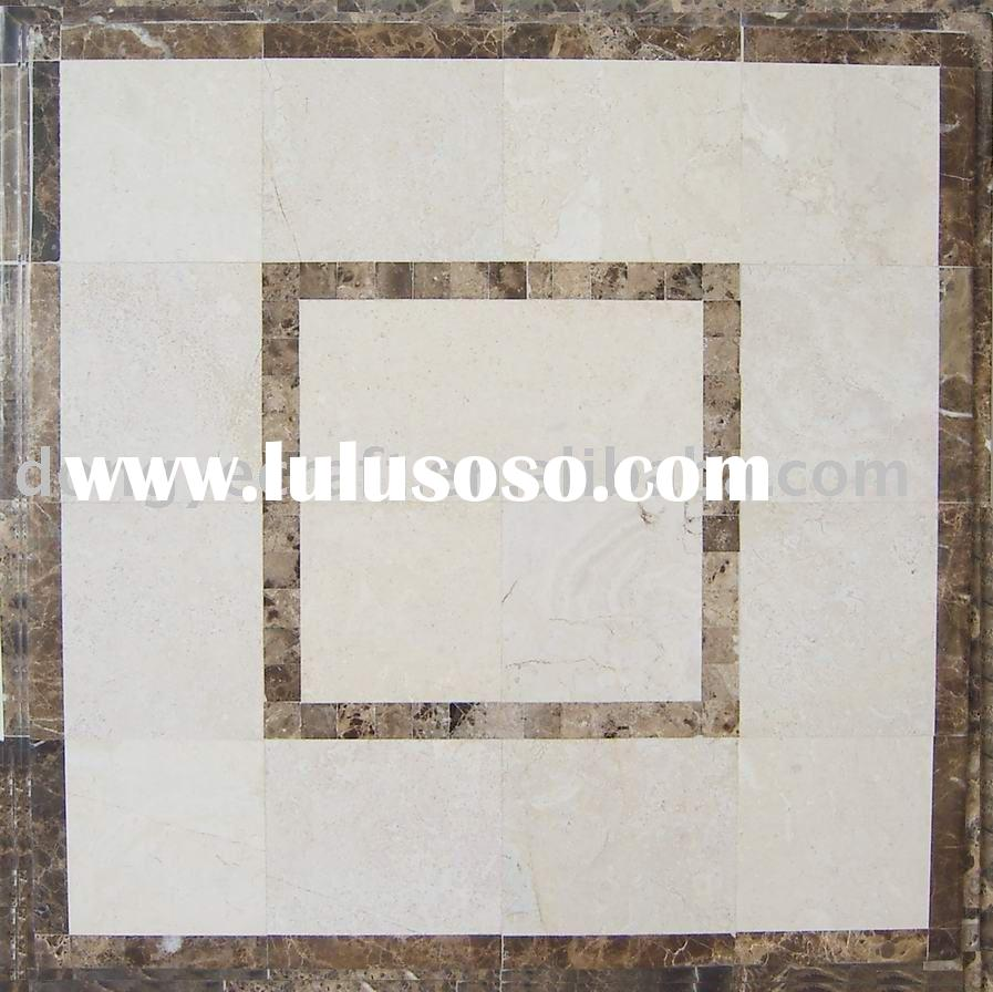 Tile top table (square table top ,marble medallion tabletop,coffee table top)