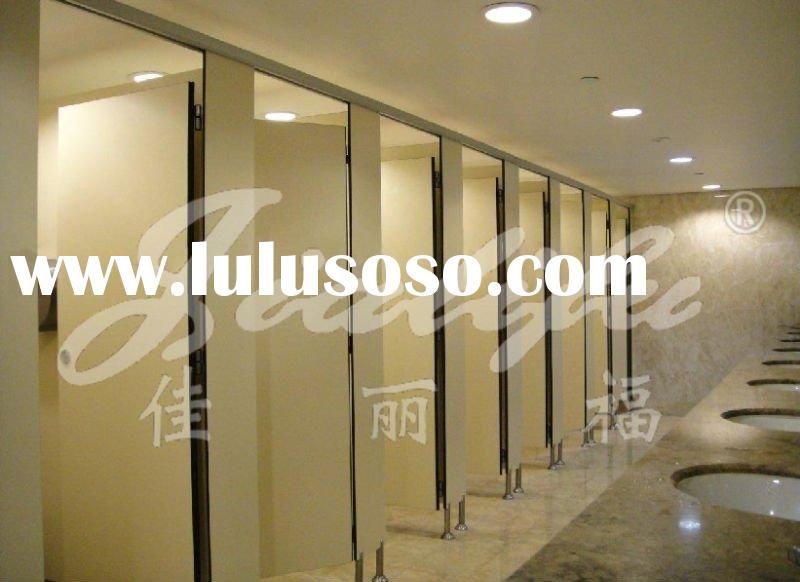 Toilet Cubicle System (with 202 stainless steel accessories)