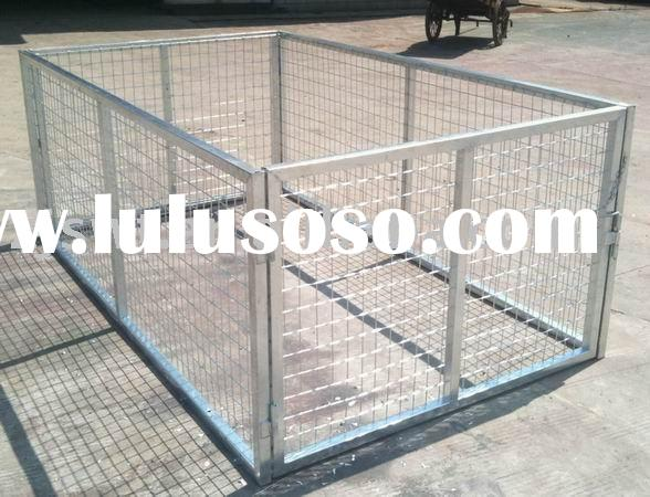 Trailer Cage (hot dipped galvanized mesh cage)