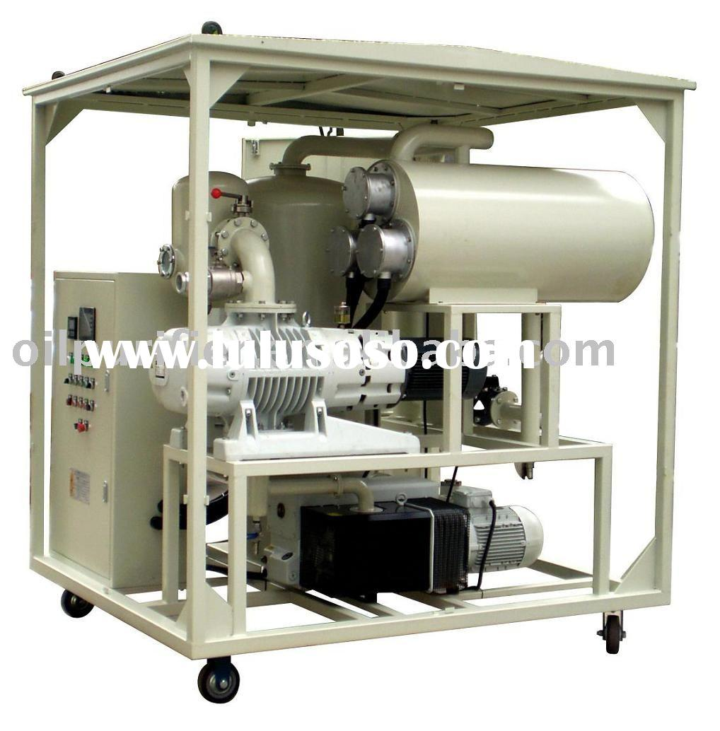 Transformer Oil Purification using Vacuum Dehydration Techniques/ oil filtration machine series ZYD/