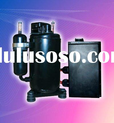 Truck sleeper air condition of 12v24v dc compressor FOR cabin of lorry heavy dutytruck