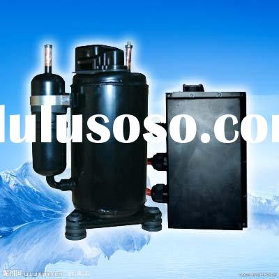 Truck sleeper air conditioner with R134a DC 24V compressor