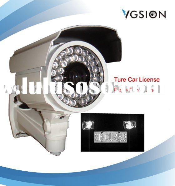True Car Number Plate recognition CCTV camera