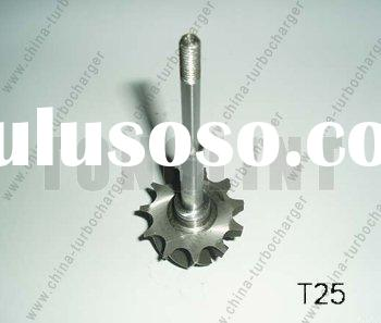 Turbocharger Shaft Rotor Turbine Wheel & Shaft T25/TB25