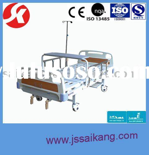 Two-Function Manual Hospital Cabinet Hide A Bed