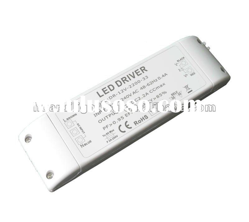 UL 12V dimmable led transformer