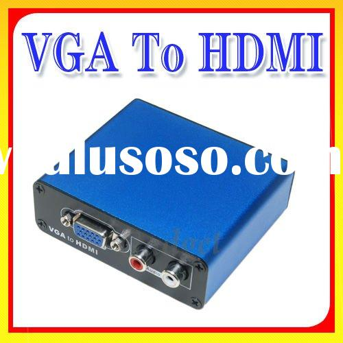 VGA with R/L Audio to HDMI HD HDTV Video Converter Box 1080P