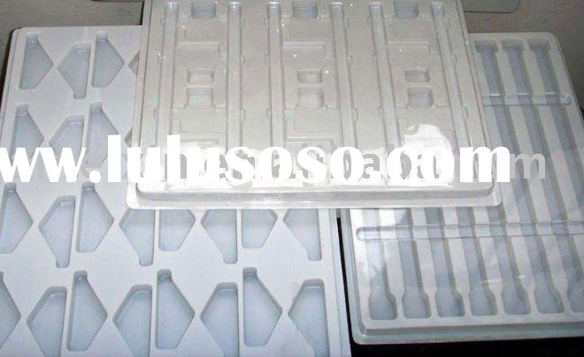 Vacuum formed plastic tray,blister tray