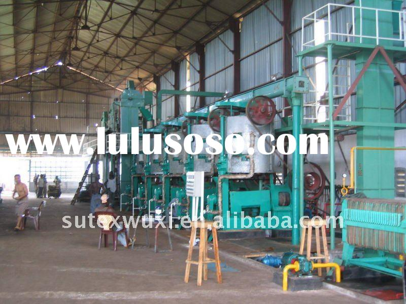 Vegetable oil processing machinery