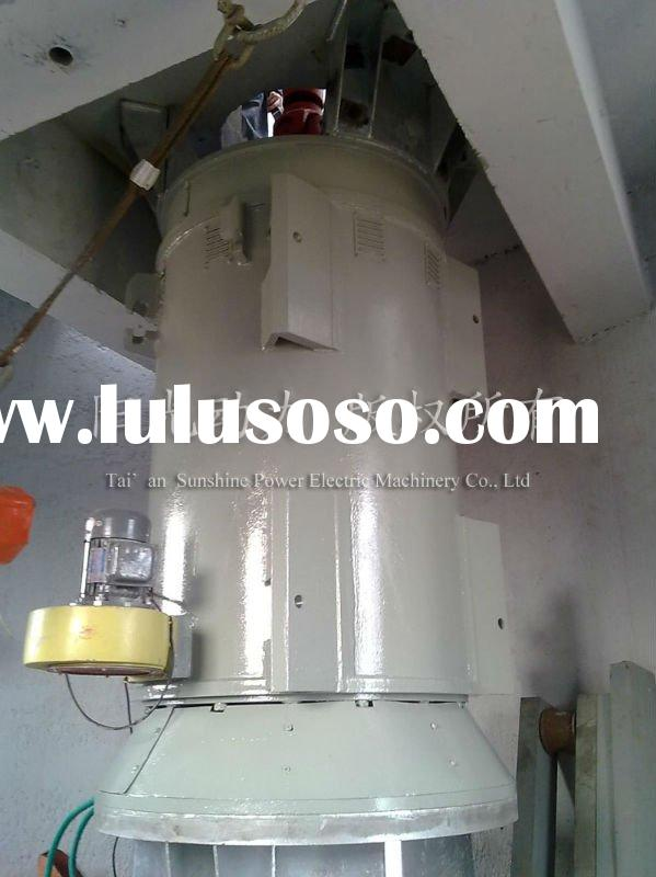 Vertical Axis Wind Permanent Magnet Generator