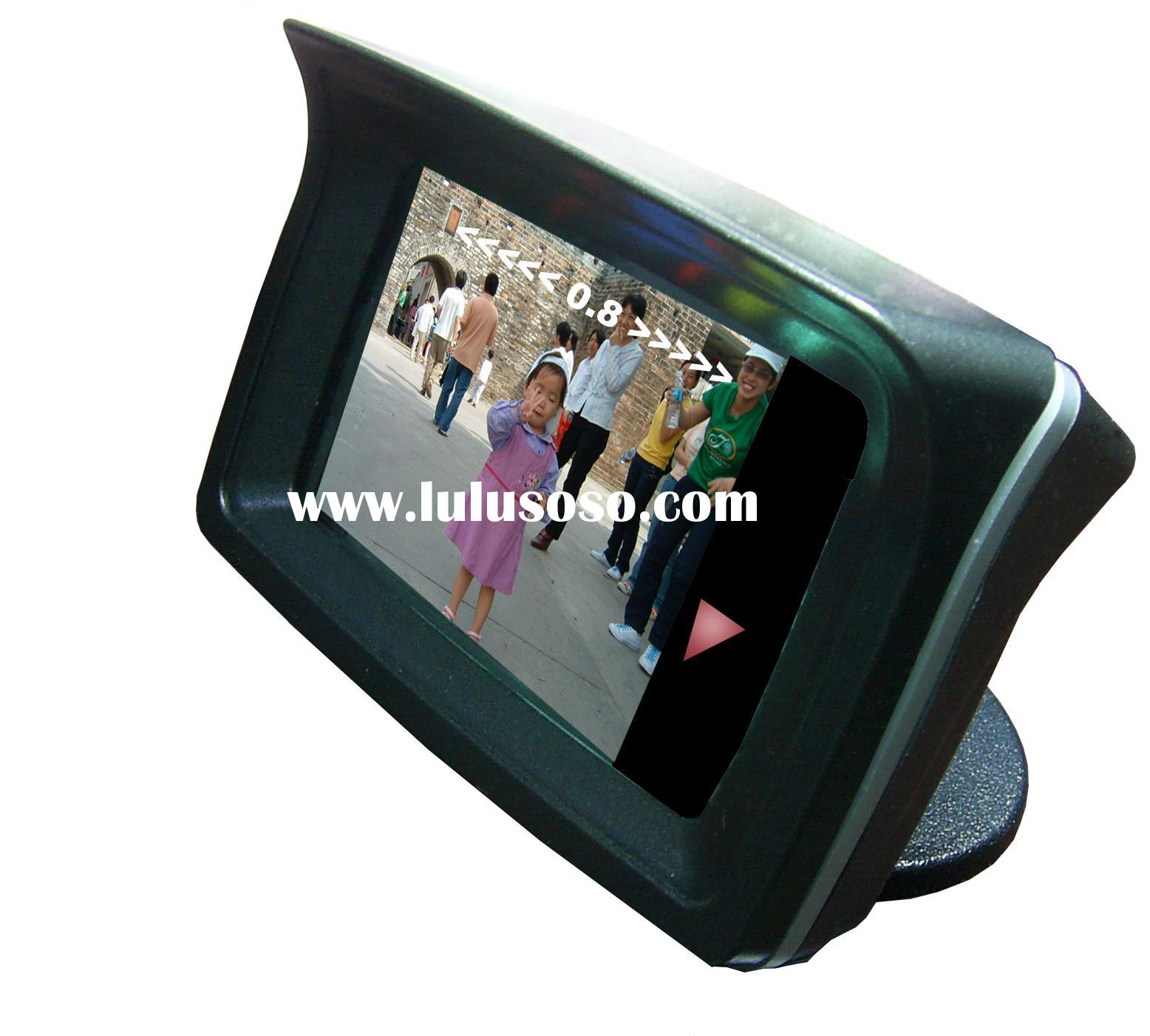 "Video Parking Sensor System with Camera and 2.3""TFT monitor"