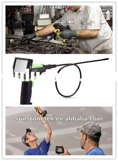 "Video inspection camera with 4.5mm--9mm dia waterproof endoscope lens, wireless portable 3.5""TF"
