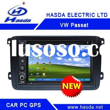 Volkswagen Passt special Car PC player /car gps ,2 Din Car PC player , windows XP system