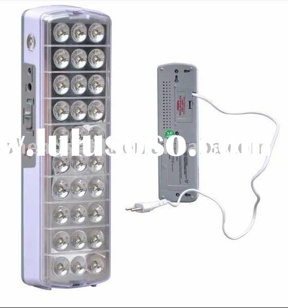 Wall mount rechargeable 30 LED emergency lights SSD-6636(CE,RoHS)
