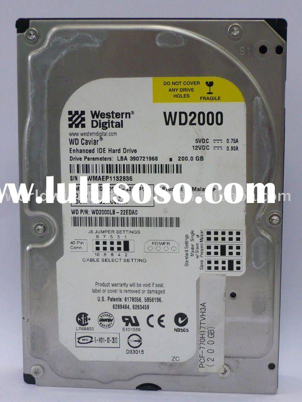 "Western Digital 200GB Desktop 3.5"" Internal Hard Disk Drive"