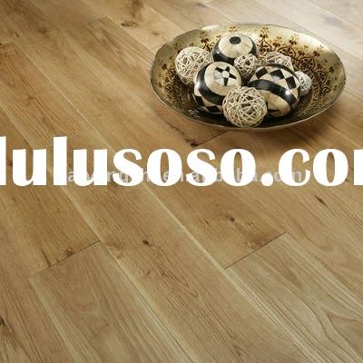 White Oak Solid Wood Flooring With Brushed UV Oiled