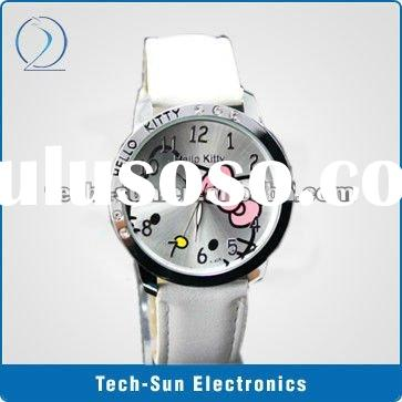 Wholesale Bulk package HELLO KITTY Watch For Kid Children Girl or Lady, 50 PCS/LOT,EMS/DHL Free Ship