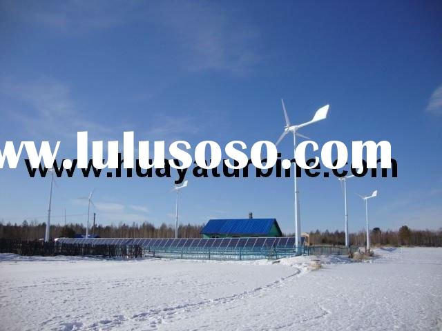 Wind Power Generator and Solar hybrid system