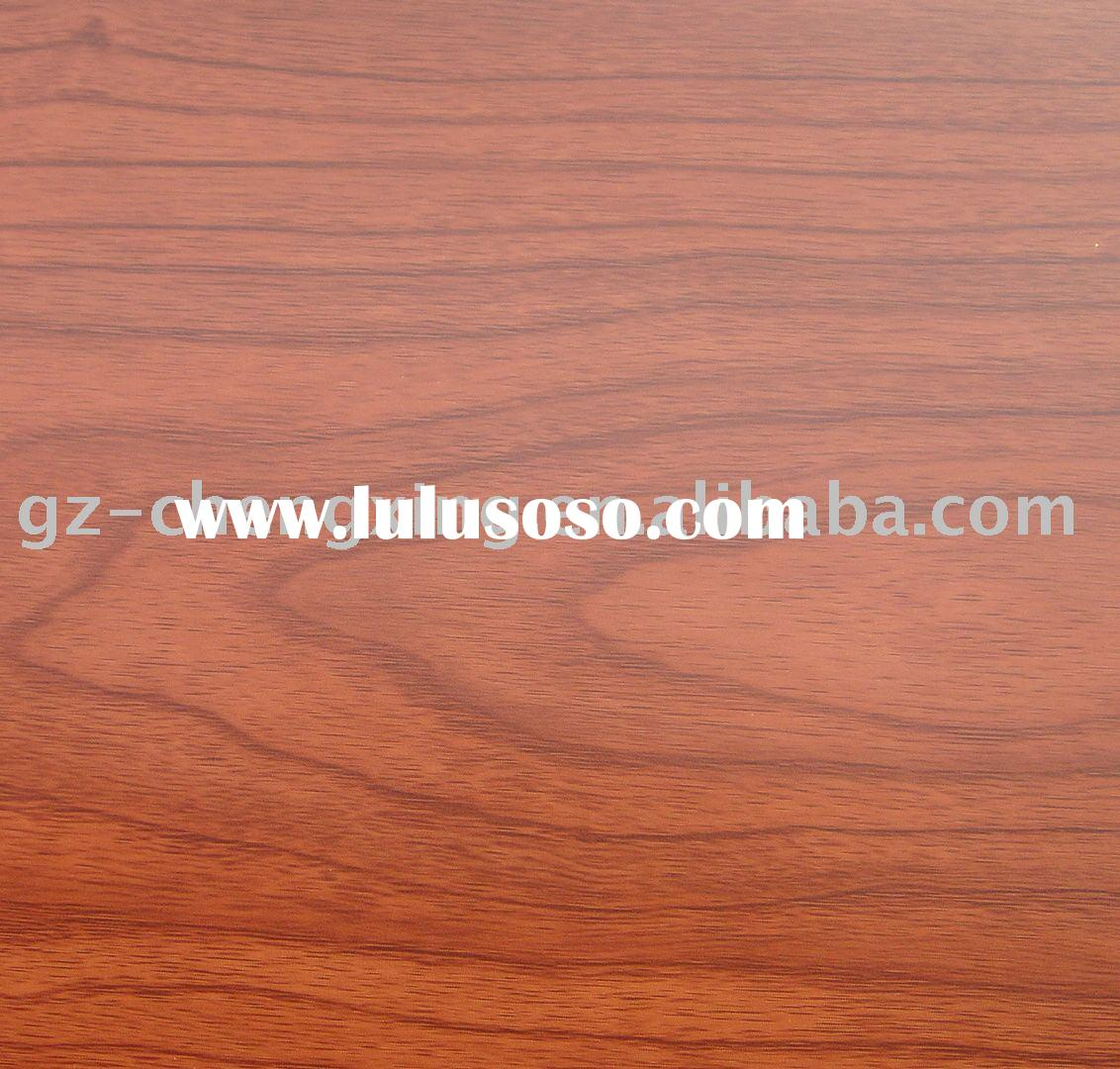 Wood grain self adhesive vinyl film