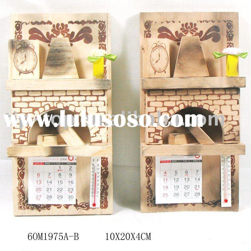 how to make japanese wooden calendar