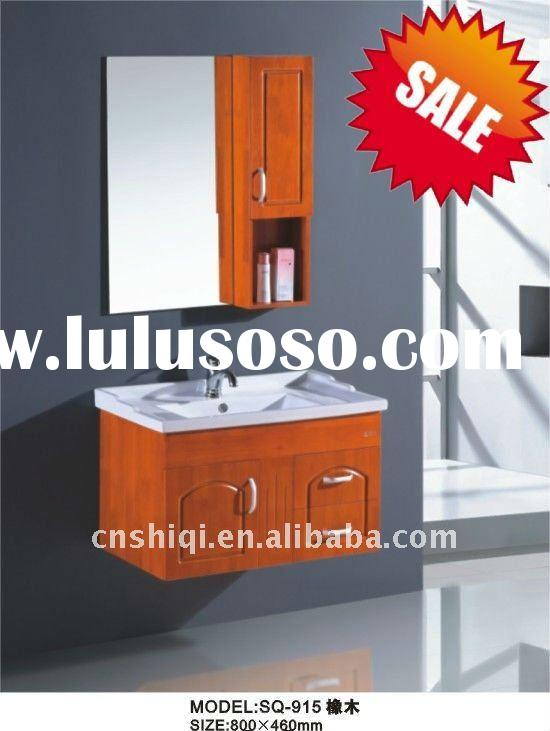 Wooden Wall Mounted Bathroom Cabinets In Toilet/Modern Design To Cabinet