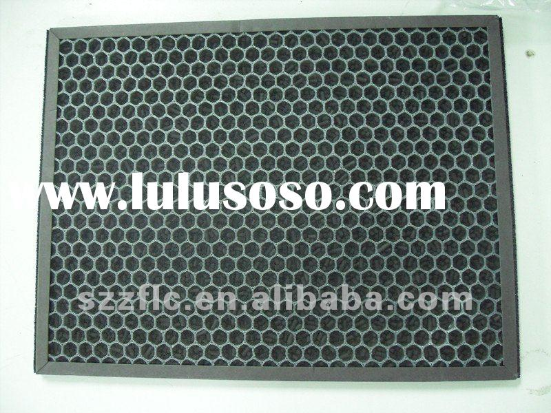 ZF activated carbon panel filter for absorbing odor