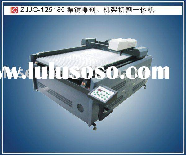 ZJJG-125185 wood laser cutting machine with galvo head