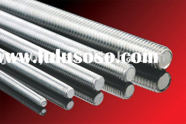 Zinc threaded rod machine
